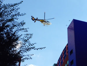 ALT:The STAT Helicopter landing on Children's Hospital of Pittsburgh, September 2013. | Your #Pixburgh Photo Album | #Pixburgh: A Photographic Experience
