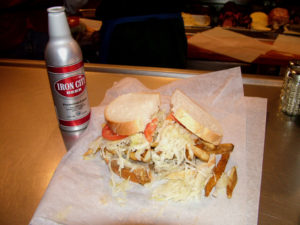 ALT:Primanti Brothers sandwich and the #1 seller at Primanti's Iron City Beer, July 26, 2009 at Primanti's Brothers in Strip District. | Your #Pixburgh Photo Album | #Pixburgh: A Photographic Experience