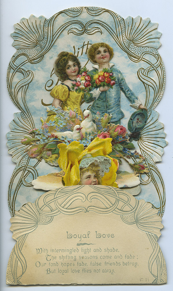 Vintage Valentine, c. 1884-1915. Spencer Family Papers, Detre Library & Archives at the History Center.