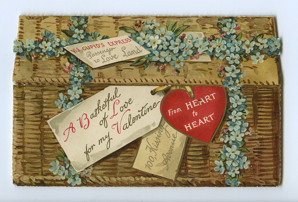 Vintage Valentine, c. 1870-1910. Spencer Family Papers, Detre Library & Archives at the History Center.