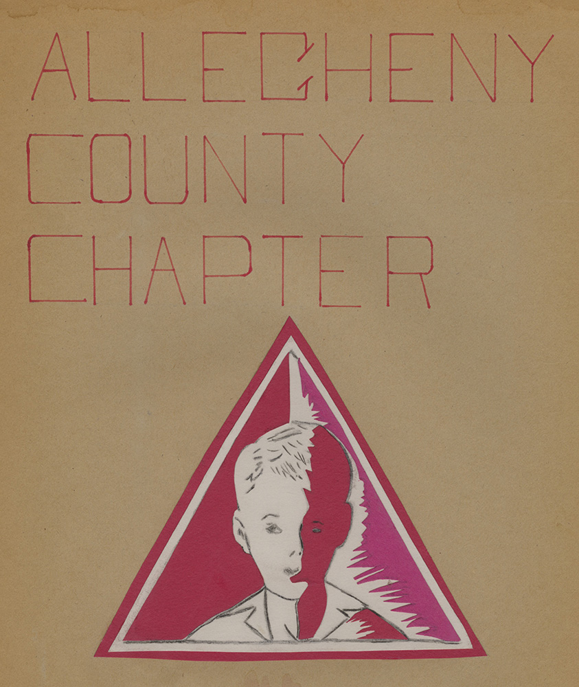 4_MSS_1002_B03_I04: ACC-PARC logo depicted on one of the organization's scrapbooks in 1966. | Heinz History Center