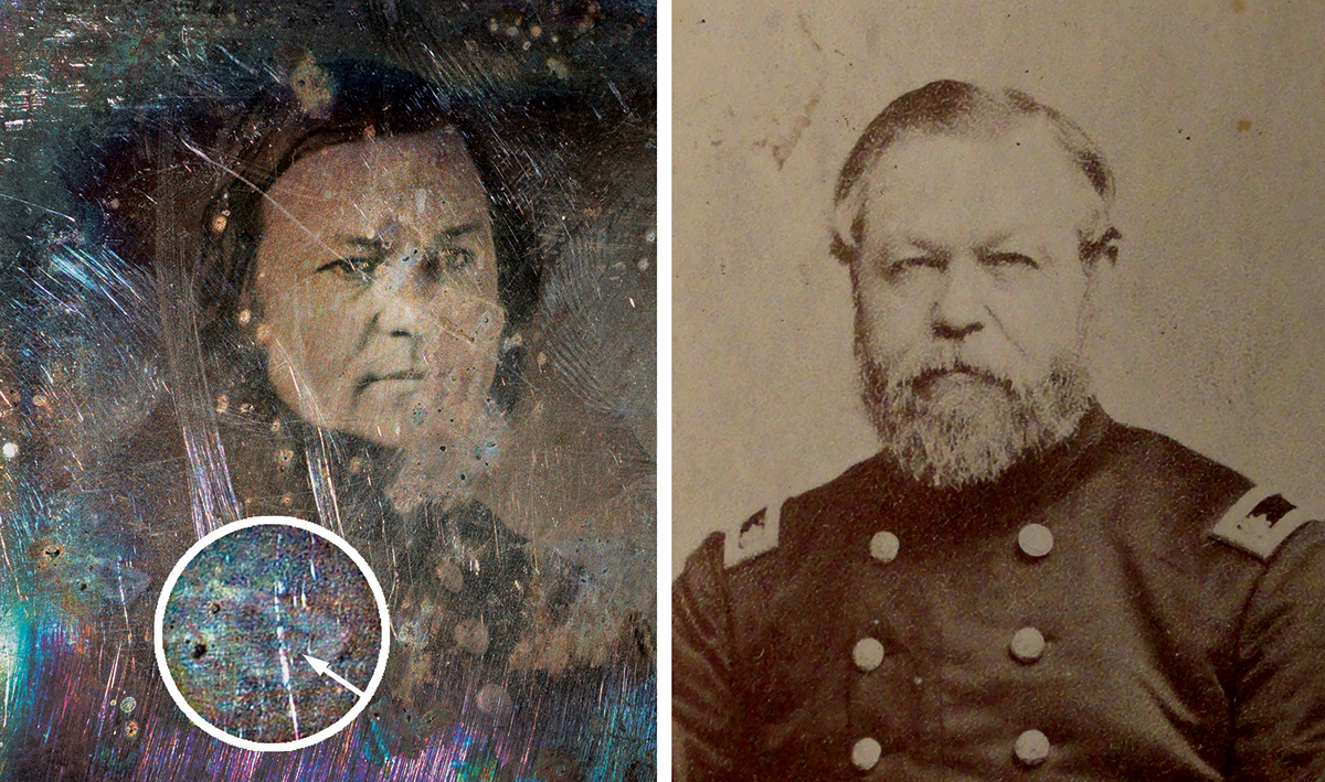 Thomas Rodman composite. McClelland Family Papers and Photographs, Detre Library & Archives at the History Center. Photo by Tom Powers.