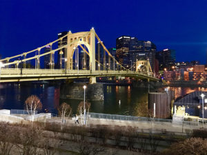 ALT:Photo was taken from North Side of the 6th Ave. bridge, March 24, 2017.   Your #Pixburgh Photo Album   #Pixburgh: A Photographic Experience