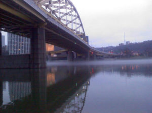 ALT:Pittsburgh, 2014, from a boat on the river.   Your #Pixburgh Photo Album   #Pixburgh: A Photographic Experience