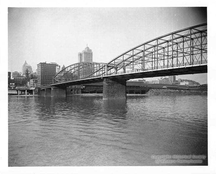 Smithfield Street Bridge, 1949, Allegheny Conference on Community Development Photographs, Detre Library & Archives at the History Center