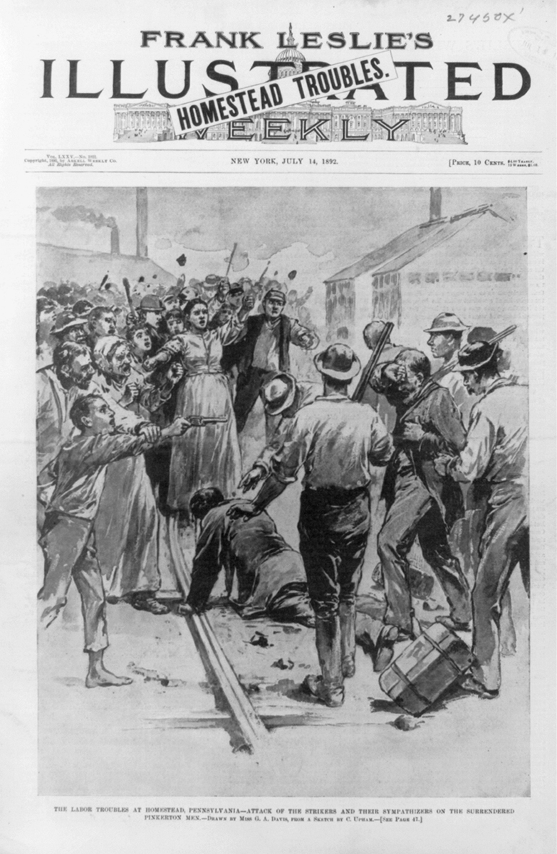 Cover of Frank Leslie's Illustrated Weekly, July 14, 1892. | Courtesy of Library of Congress