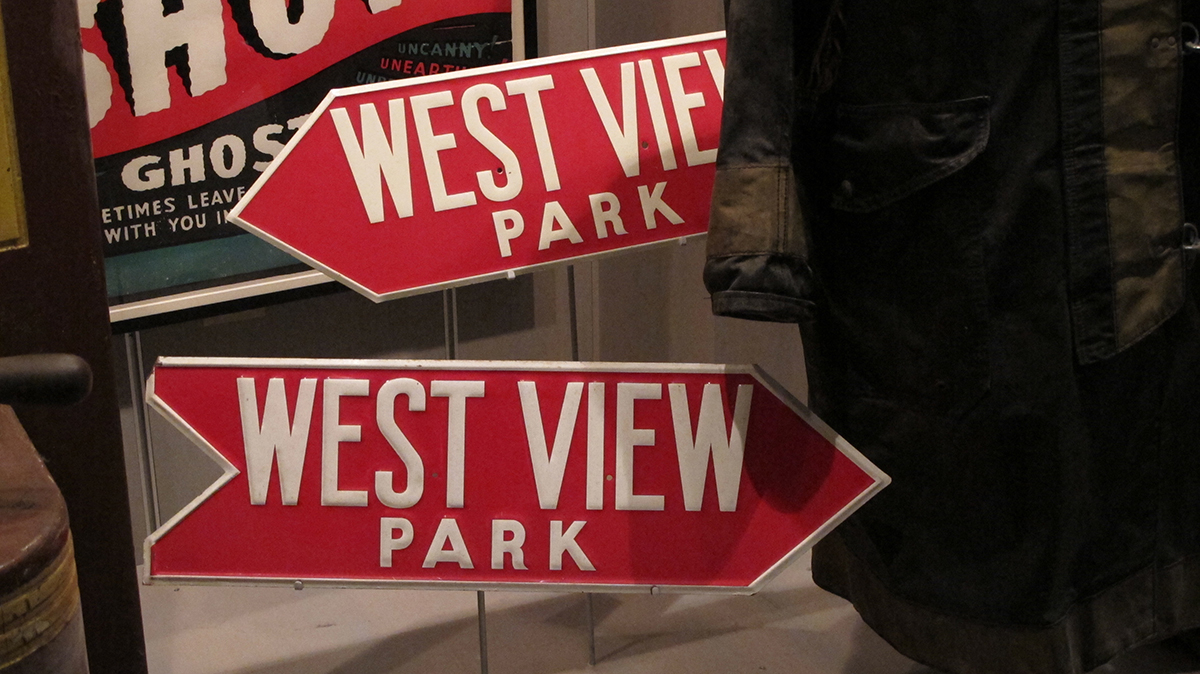 West View Park signs in Special Collections | Heinz History Center