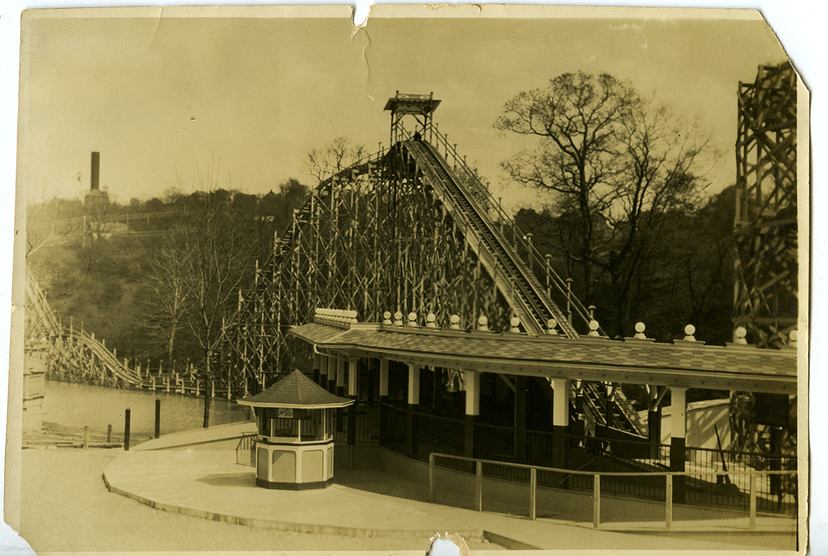 The Dips at West View Park, c. 1910-1912. | Heinz History Center