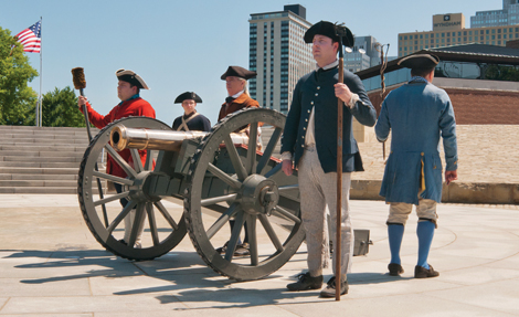 Living History at Fort Pitt