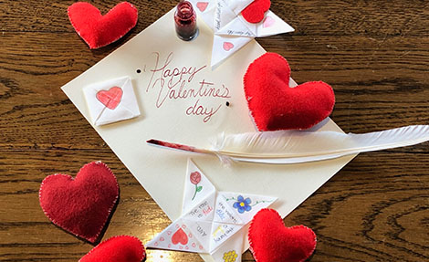 Love Tokens and Valentines