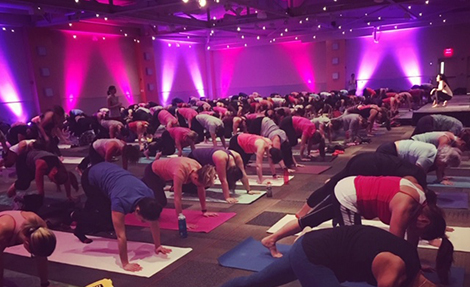 Galentine's Day Yoga