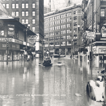 Step #46: 1936 Flood, Pittsburgh.