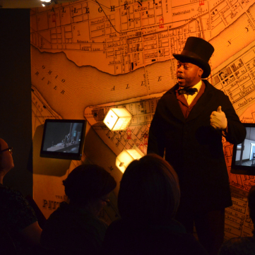 Martin Delany Re-enactor, From Slavery to Freedom