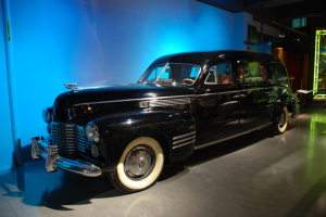 ALT:Gaines Funeral Home hearse
