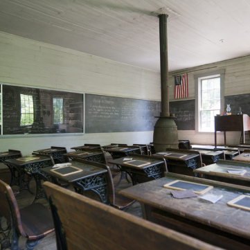 Schoolhouse Rock, Meadowcroft Historic Village