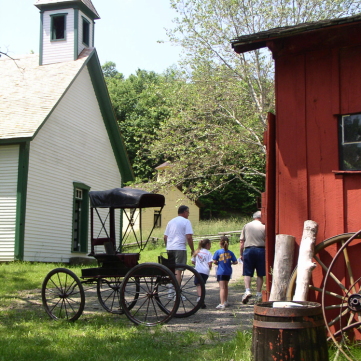 Meadowcroft Historic Village