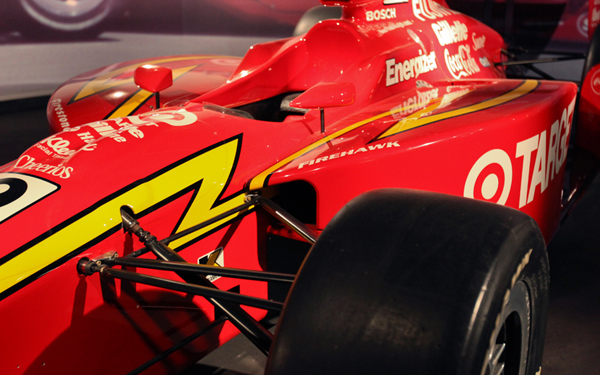 Chip Ganassi's Indy-500 Car