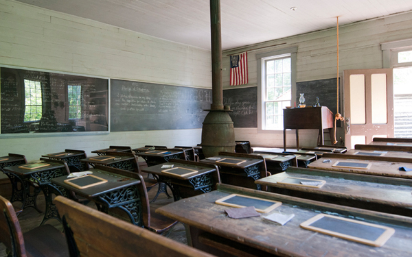 One Room Schoolhouse, Meadowcroft Historic Village