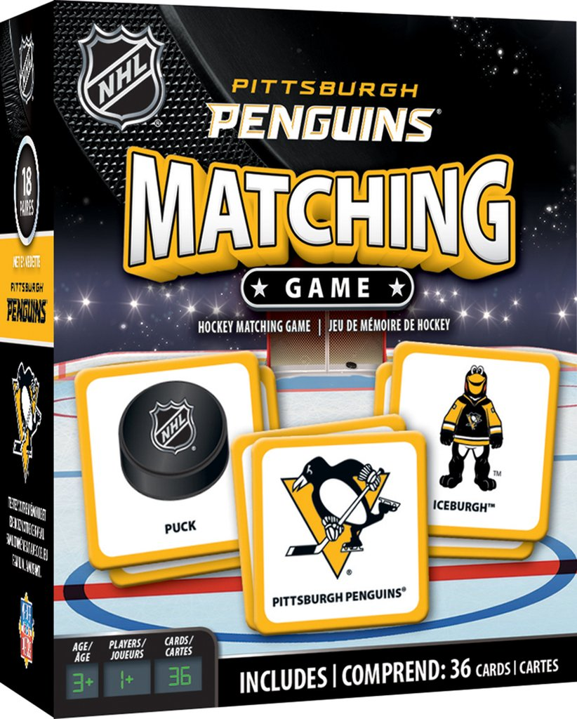 Matching Game: Pittsburgh Penguins