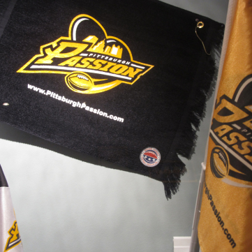 Pittsburgh Passion: Towel and Flag
