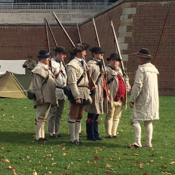 Living History at Steel City Salutes our Troops, November 7, 2015, at Point State Park.