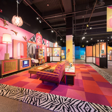 1960s Living Room | Toys of the '50s, '60s and '70s exhibit at the Heinz History Center