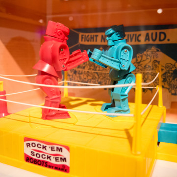 Rock 'Em Sock 'Em Robots | Toys of the '50s, '60s and '70s exhibit at the Heinz History Center