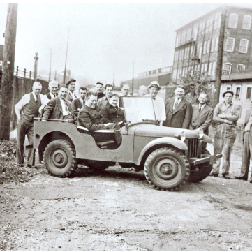 The First Jeep, We Can Do It! WWII