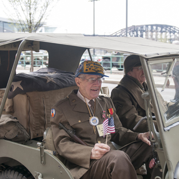 We Can Do It! WWII Opening Day