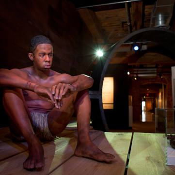 Slave Figure, From Slavery to Freedom