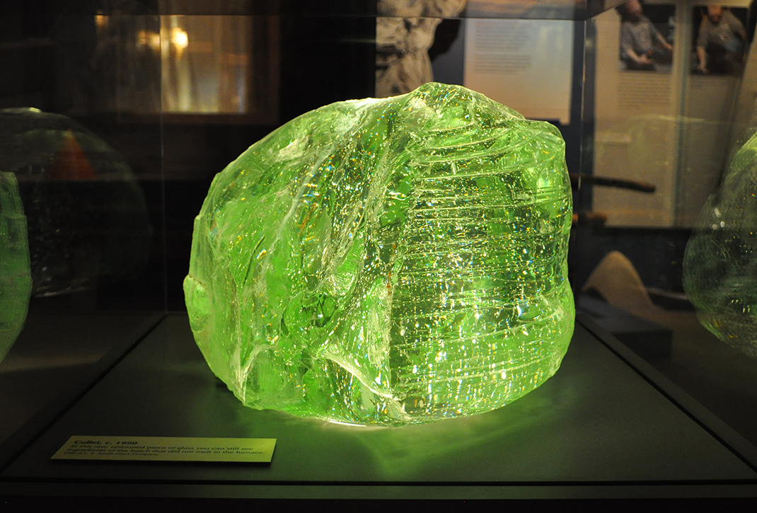 Glass cullet, Glass: Shattering Notions, Heinz History Center