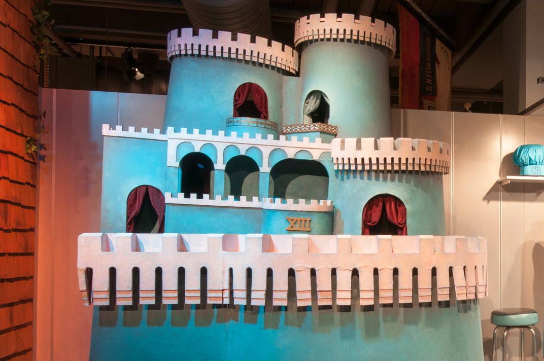 "King Friday XIII's Castle, ""Mister Rogers' Neighborhood,"" Special Collections Gallery, Heinz History Center"