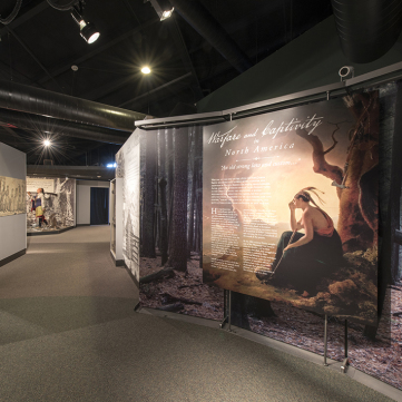 """An Old Strong Law and Custom,"" Captured by Indians, Fort Pitt Museum"
