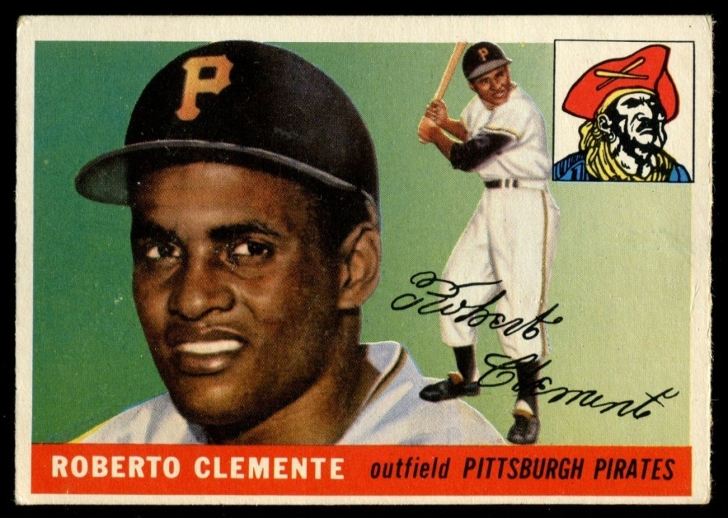 1955 Topps Roberto Clemente Rookie Card