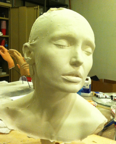 Massy Harbison Lifecast