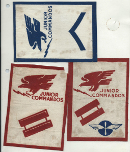 ALT:Junior Commando Badges