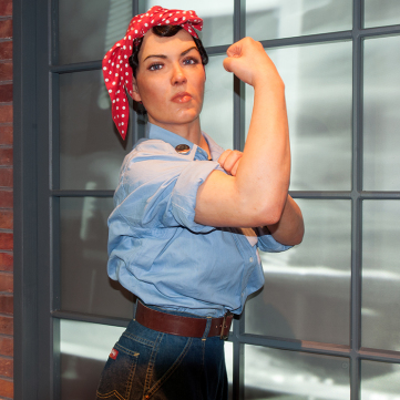 Rosie the Riveter, We Can Do It! WWII