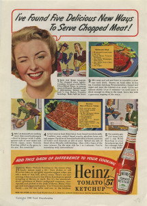 ALT:A Heinz Company advertisement in Good Housekeeping magazine, September 1940. H.J. Heinz Company Photographs, MSP 57, Senator John Heinz History Center.