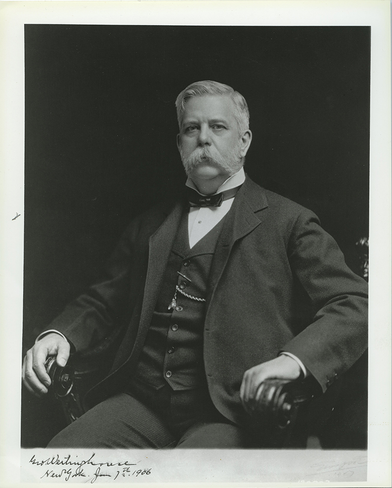 Westinghouse Portrait, 1906. George Westinghouse Museum Collection, MSS 920, Detre Library & Archives at the Heinz History Center.