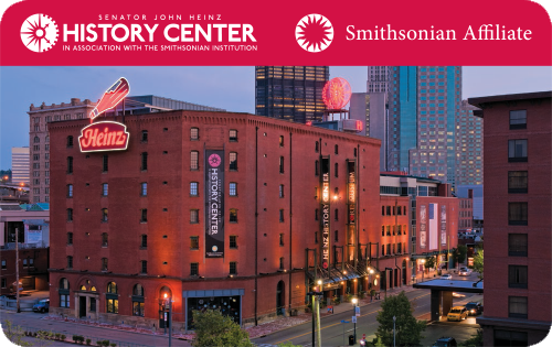 Heinz History Center Membership Card: History Center