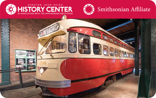 Heinz History Center Membership Card: Trolley