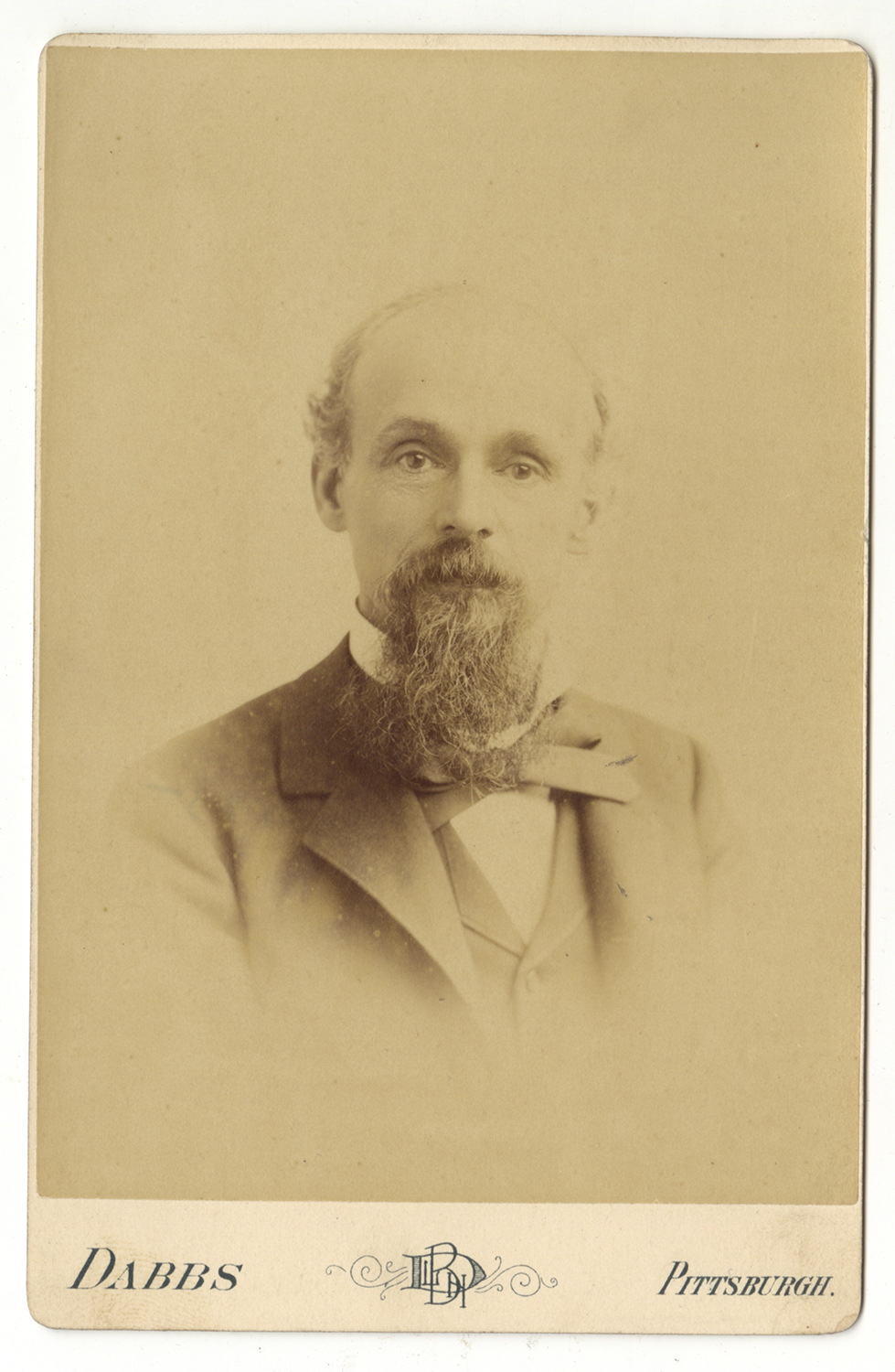 Cabinet card of John Brashear, Heinz History Center.