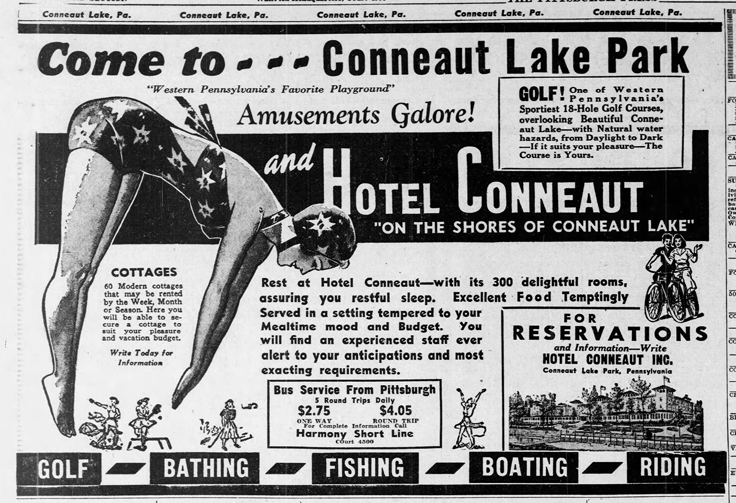 Conneaut Hotel - The_Pittsburgh_Press_Sun__May_26__1940_