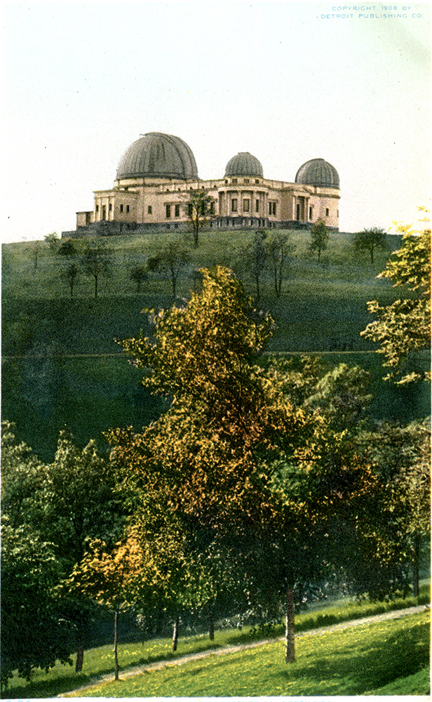 Allegheny Observatory, 1908