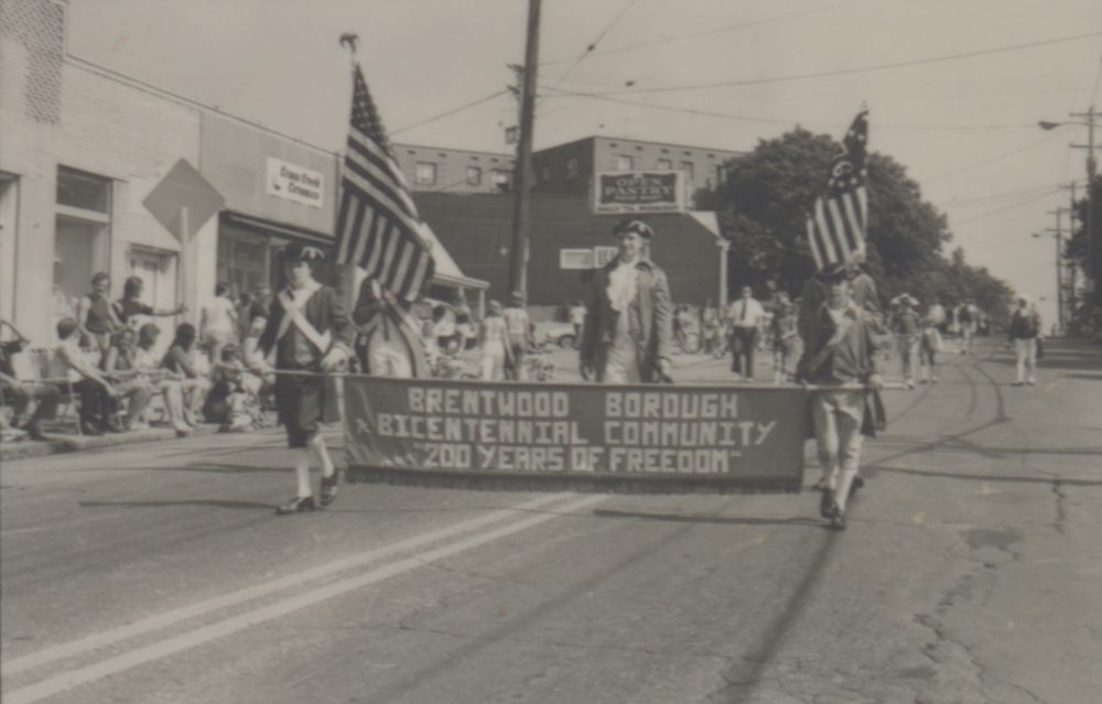 Brentwood Borough celebration of United States Bicentennial, 1976. Heinz History Center.