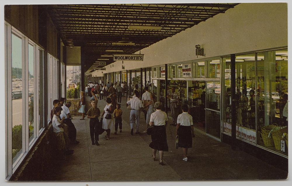 Northway Shopping Center postcard, Heinz History Center