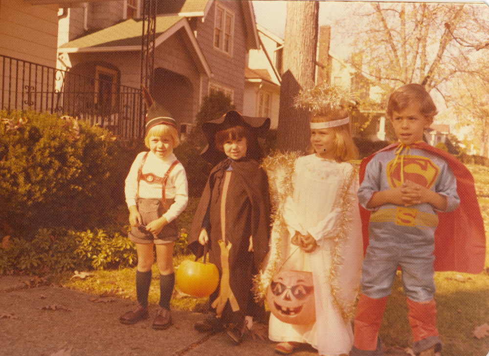 Trick or treating in the Friendship neighborhood, 1970s. Taylor Family Collection, Detre Library & Archives at the Heinz History Center.