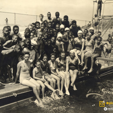 Ammon Center pool in the Hill District, 1941. | pixburgh: a photographic experience, Heinz History Center