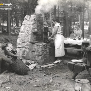 Cook Forest State Park, 1940s | pixburgh: a photographic experience, Heinz History Center