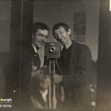 Brothers Frederick (left) and Thomas (right) Gretton, 1882. | pixburgh: a photographic experience, Heinz History Center
